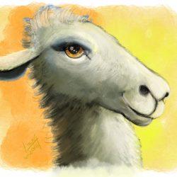Daily Sketch – Llama