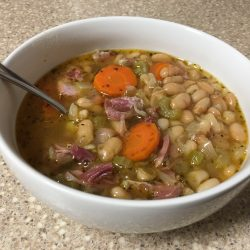 Kevin's Bean and Ham Soup