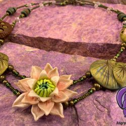Water Lilly Necklace: Take Two
